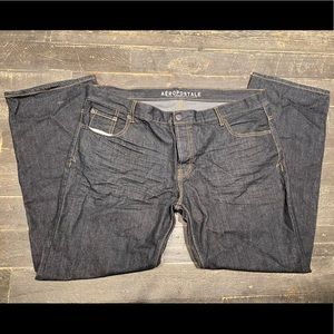 Aeropostale Men's jeans pants slim straight